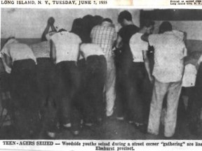 Barons Gang Fight Arrest 1955
